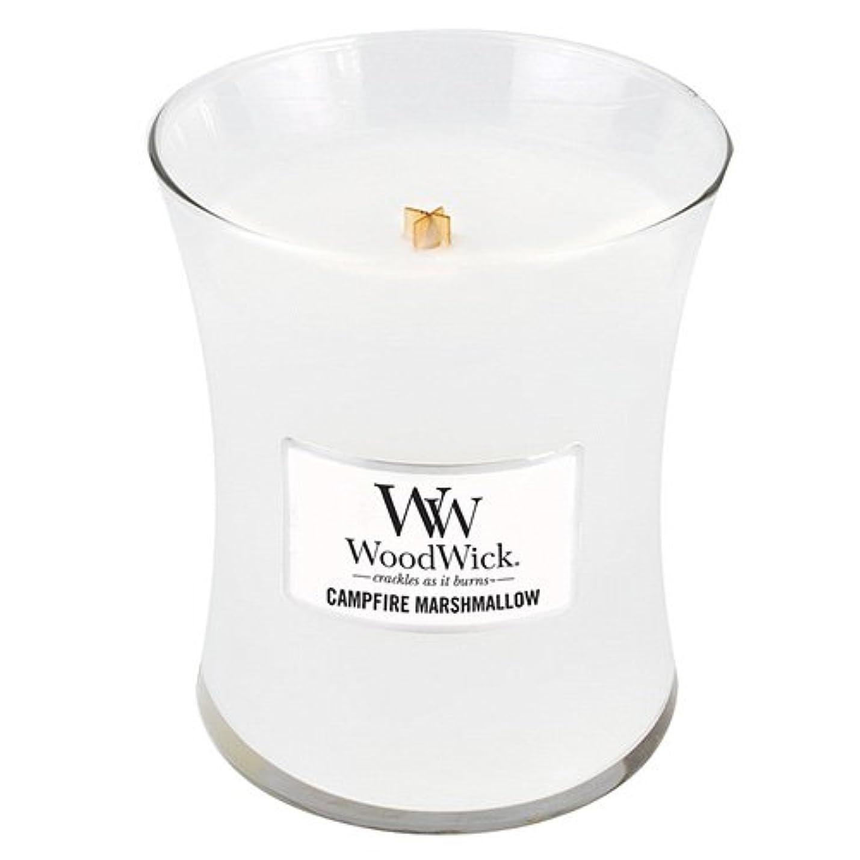 キノコ一方、言語Woodwick 300ml Candle - Campfire Marshmallow