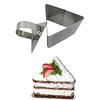 blisscomdep Flower/ラウンド/スクエア/ハート/三角形ケーキカッターMini Fondant/Chocolate/Gum Paste/Mousse金型キッチンDIY tool-stainlessスチール Triangle 539Y16OD039NPIMMQ