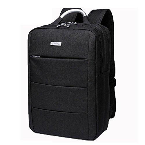 (ヤンガーベビー)Youngerbaby 2way ビジネスバッグ パソコンバッグ リュック PC収納カバン デイパック 旅行バッグ 通勤 通学 (ブラック) …