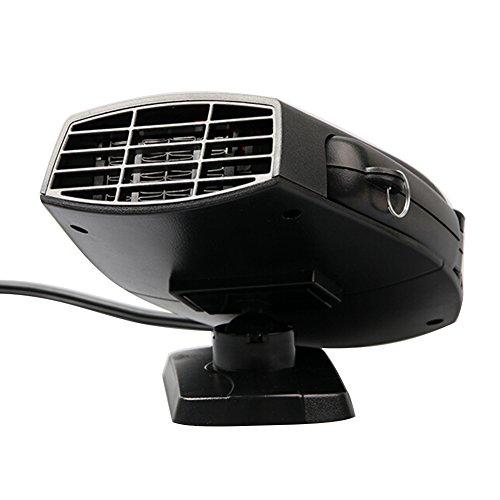 Bulary 車載ファンヒーター ヒーターファン 車載用 ヒーター 車載用暖房 温風 車載用クーラー...