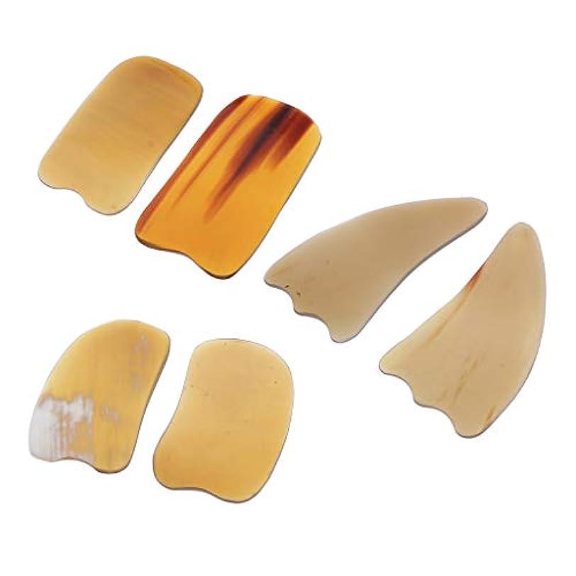 住所変形する薬マッサージ スクレイピングボード ボディマッサージ 角形 滑らかな スパマッサージツール
