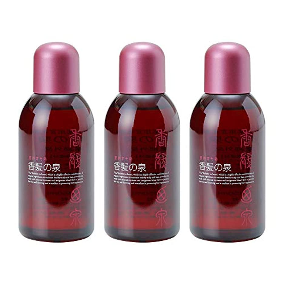 精度圧力聴覚障害者アミノン 薬用育毛剤 香髪の泉 150mL (3本セット)