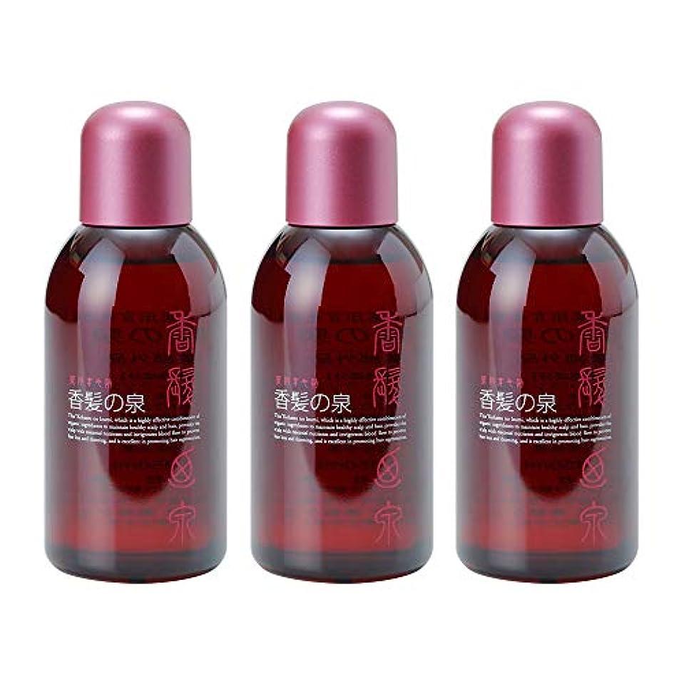 添付艦隊シンプルさアミノン 薬用育毛剤 香髪の泉 150mL (3本セット)