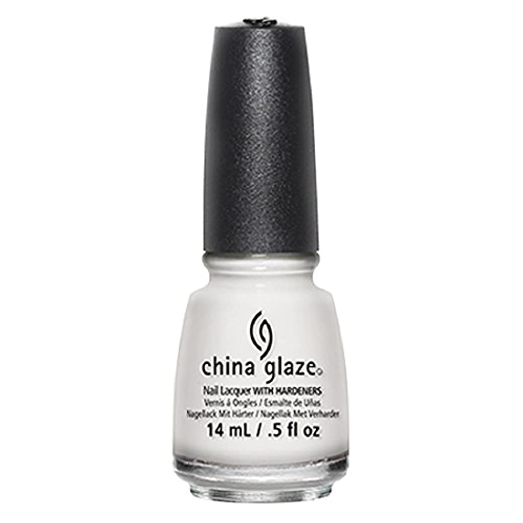 悲劇的な争う黒人China Glaze White Out Nail Polish 14ml