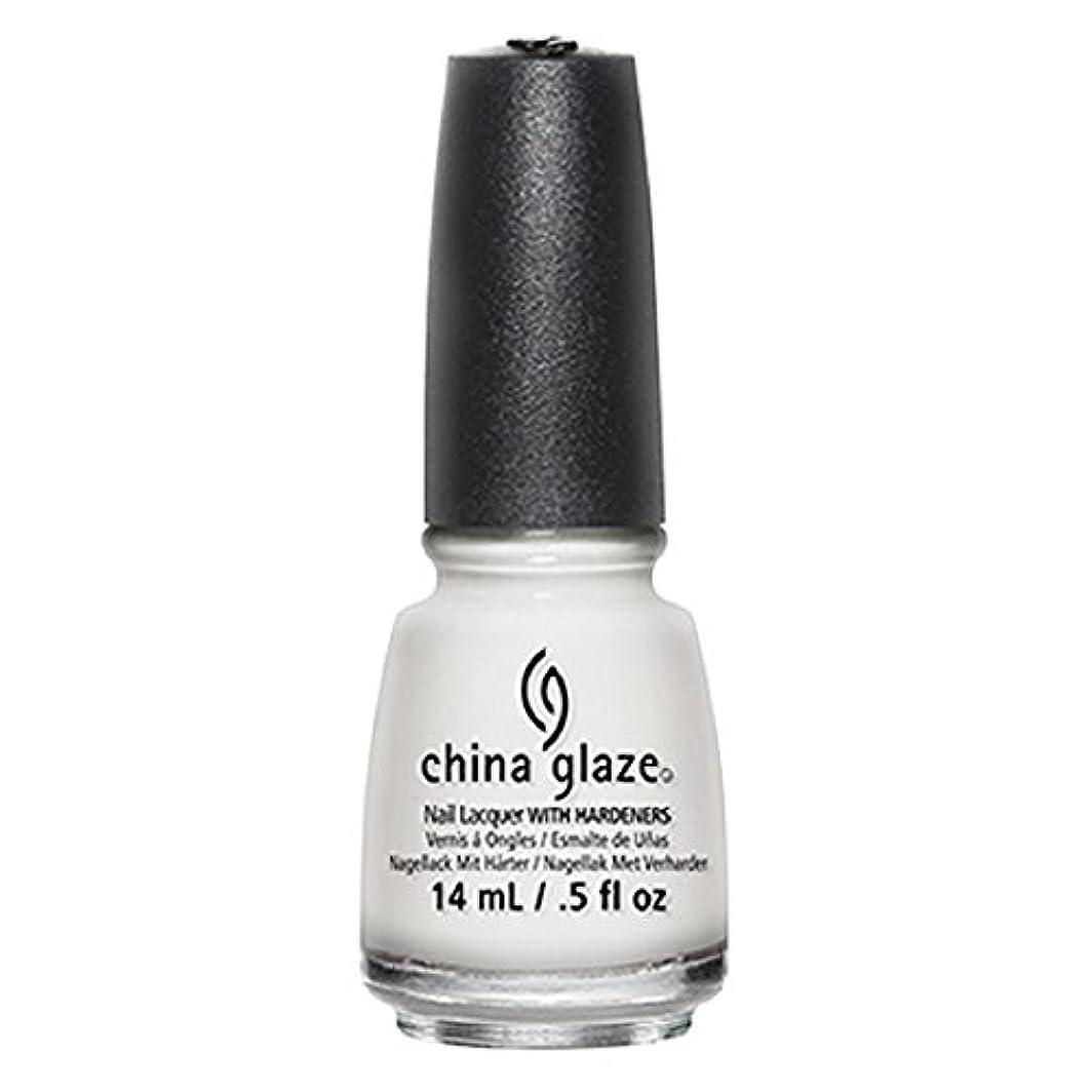 平手打ちカラスエンジニアリングChina Glaze White Out Nail Polish 14ml