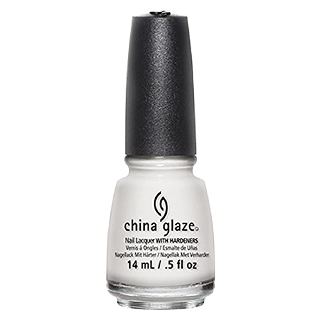 世界一般的に遠足China Glaze White Out Nail Polish 14ml