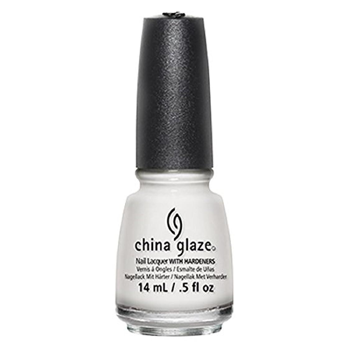 素晴らしさおばさん蓋China Glaze White Out Nail Polish 14ml