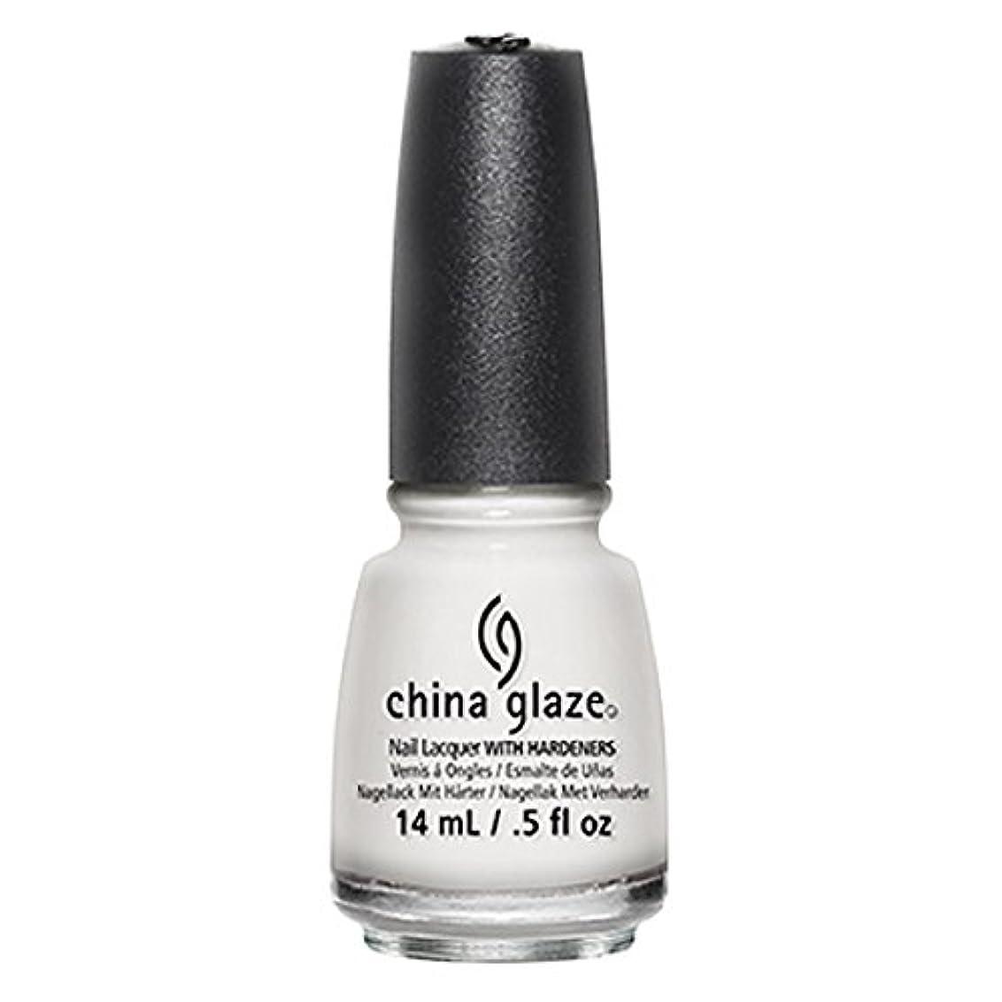 寄付リファイン均等にChina Glaze White Out Nail Polish 14ml