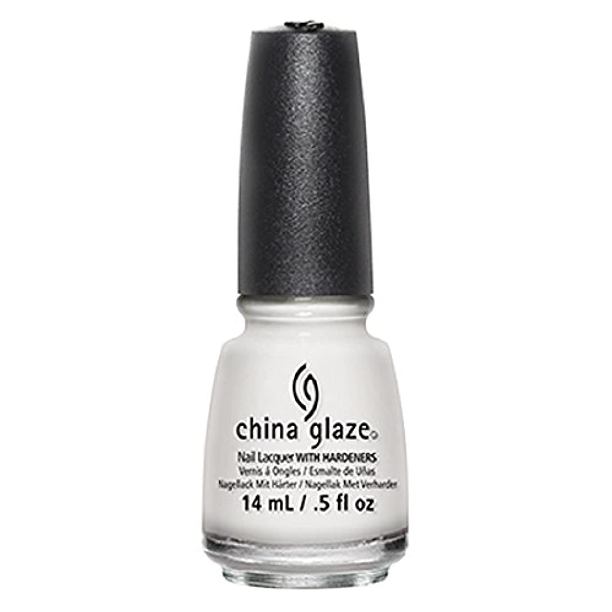 包囲真珠のような八百屋China Glaze White Out Nail Polish 14ml