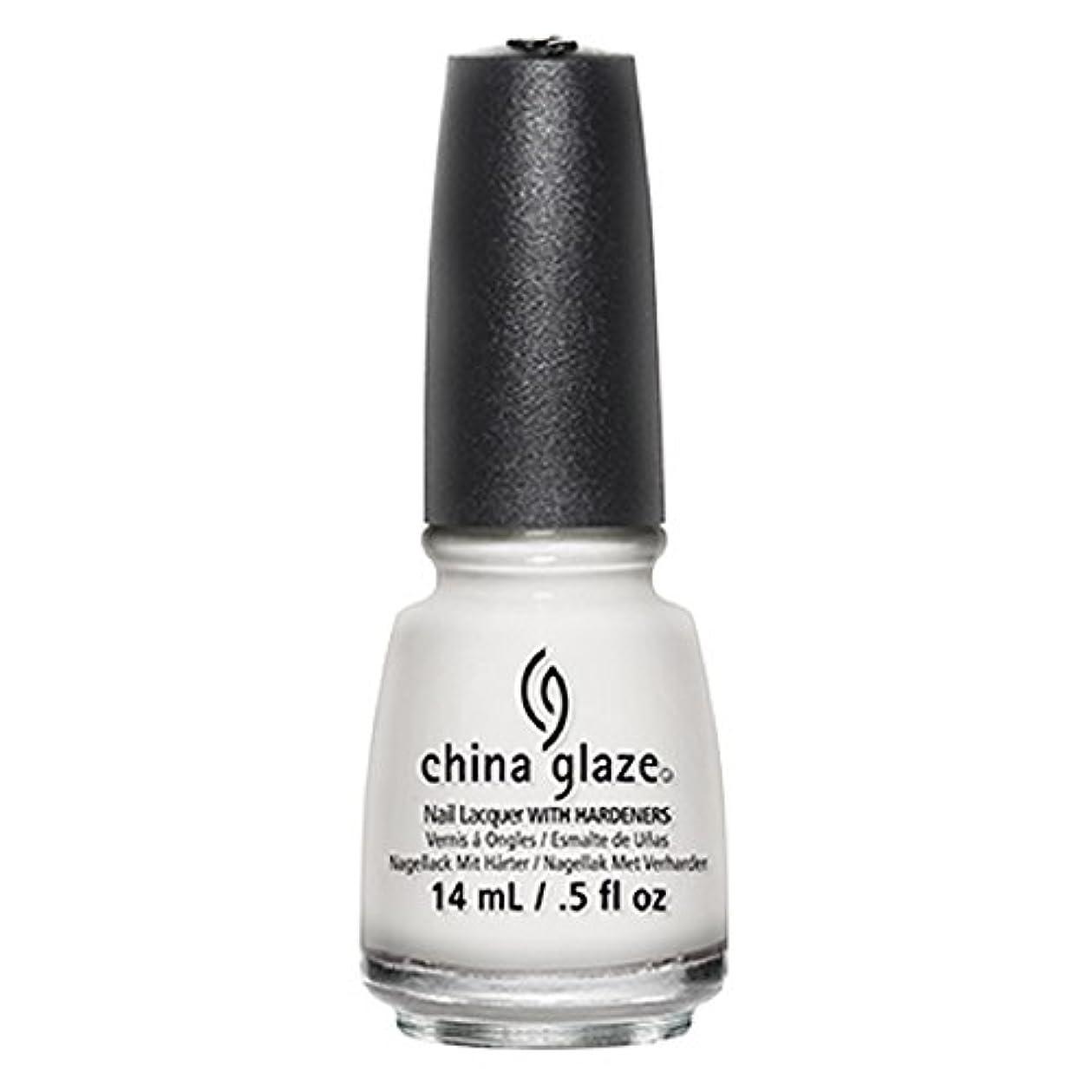 助手開いたデクリメントChina Glaze White Out Nail Polish 14ml