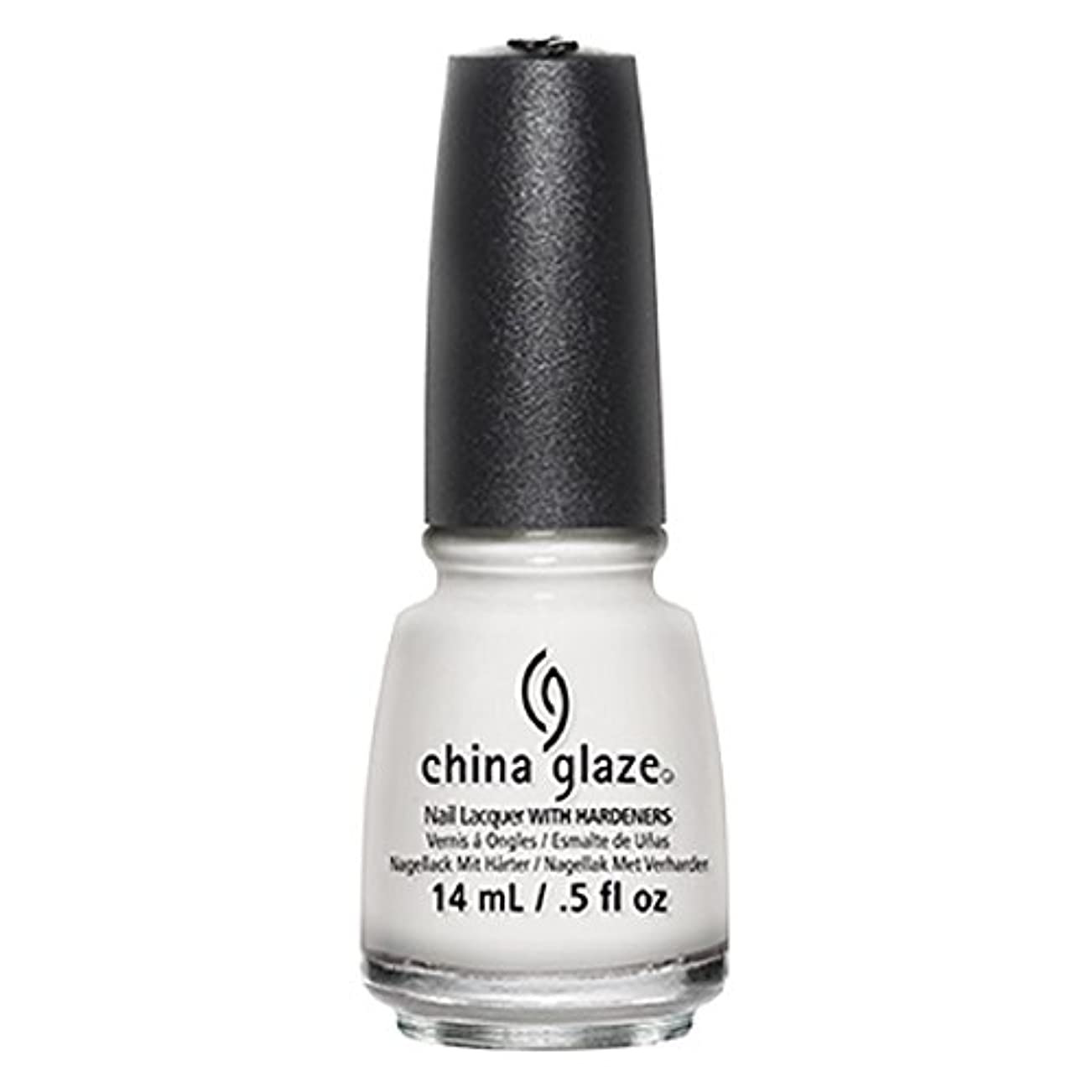 ホラーキャンディー病気のChina Glaze White Out Nail Polish 14ml