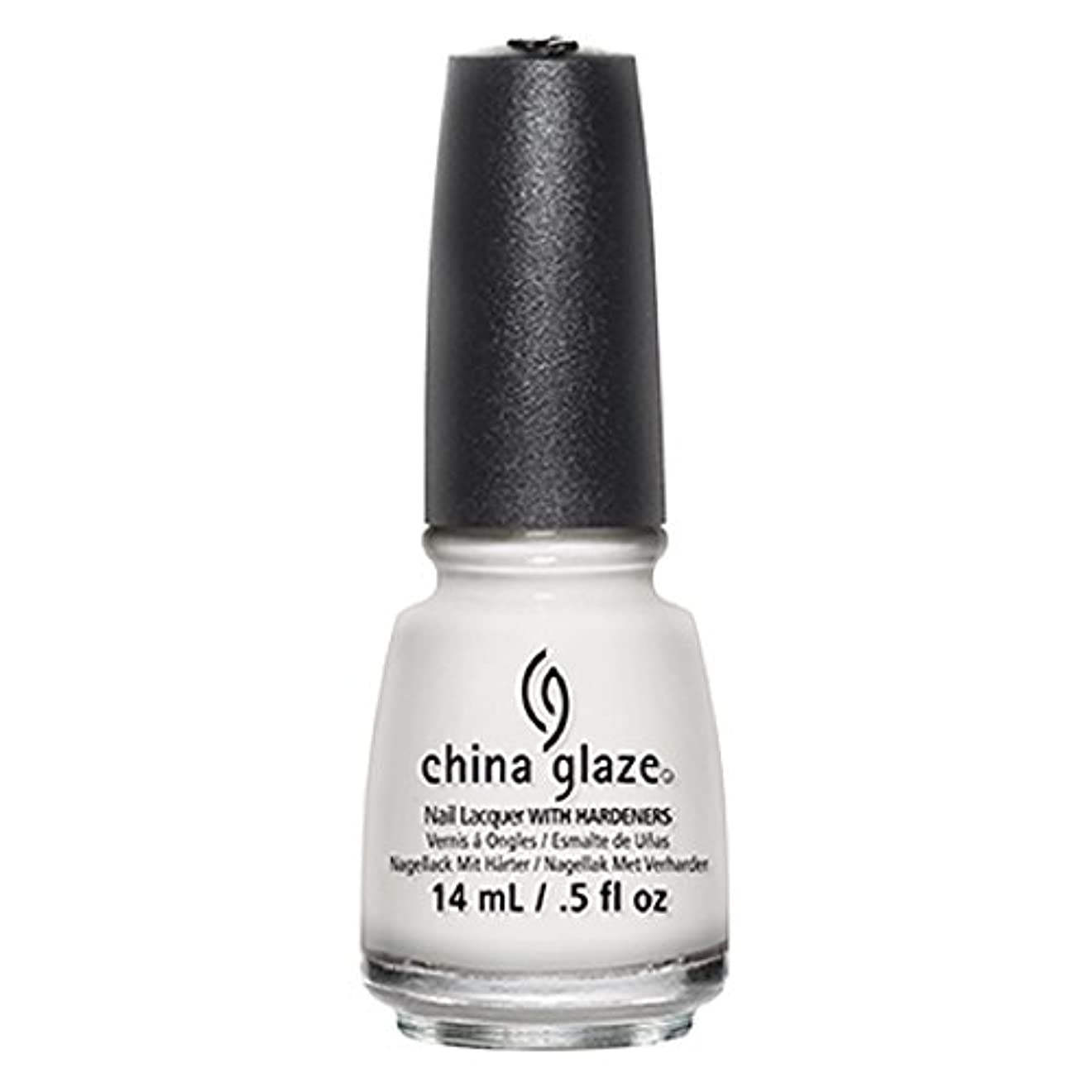 乗って共同選択ありがたいChina Glaze White Out Nail Polish 14ml
