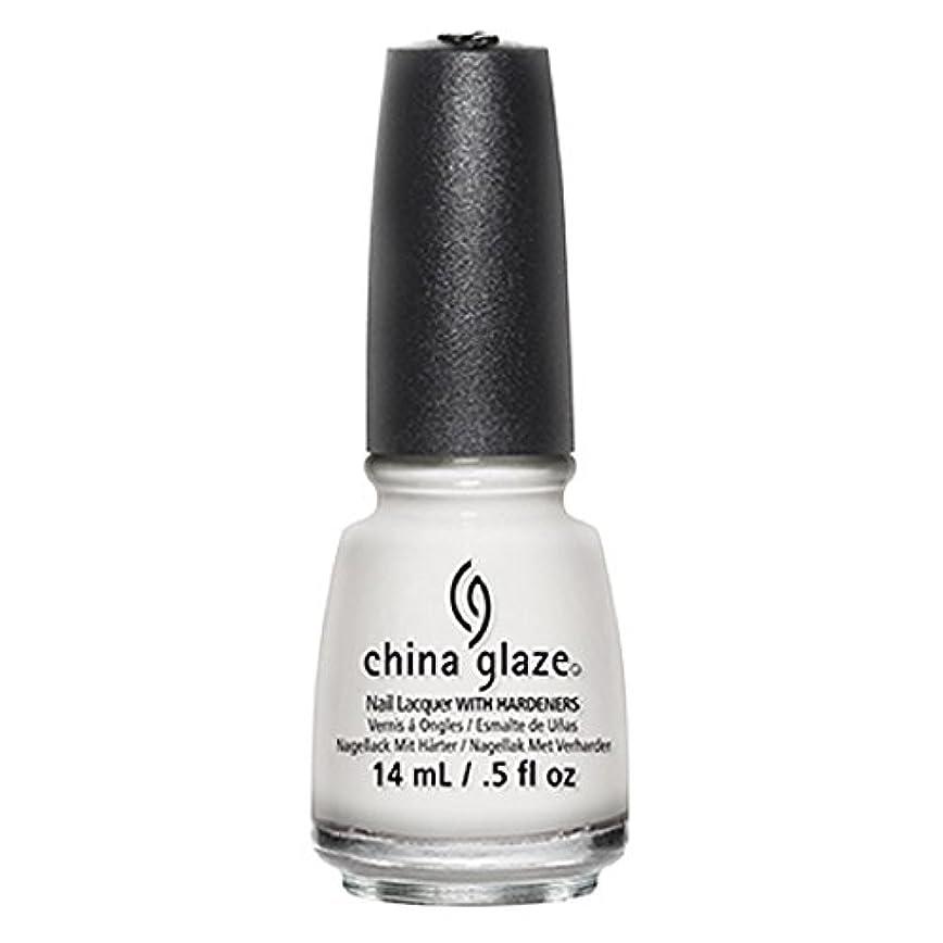 防水熱狂的な色China Glaze White Out Nail Polish 14ml