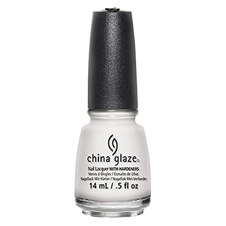 単語緊急肌China Glaze White Out Nail Polish 14ml