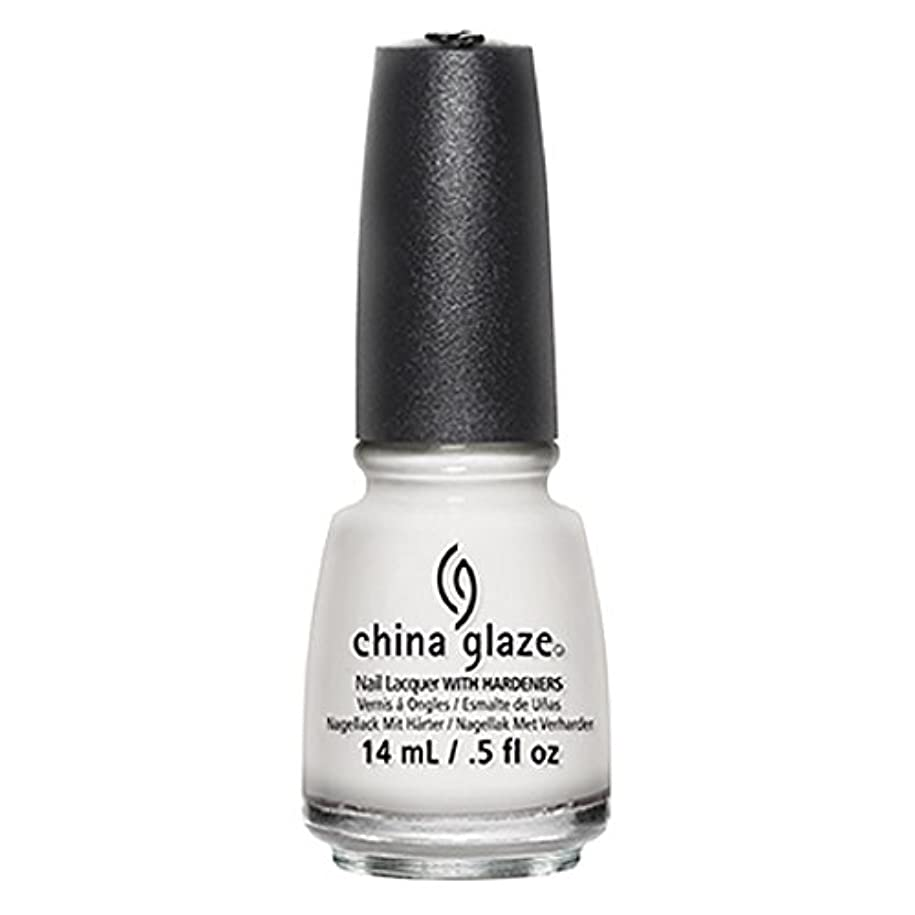 抑圧洗練貪欲China Glaze White Out Nail Polish 14ml