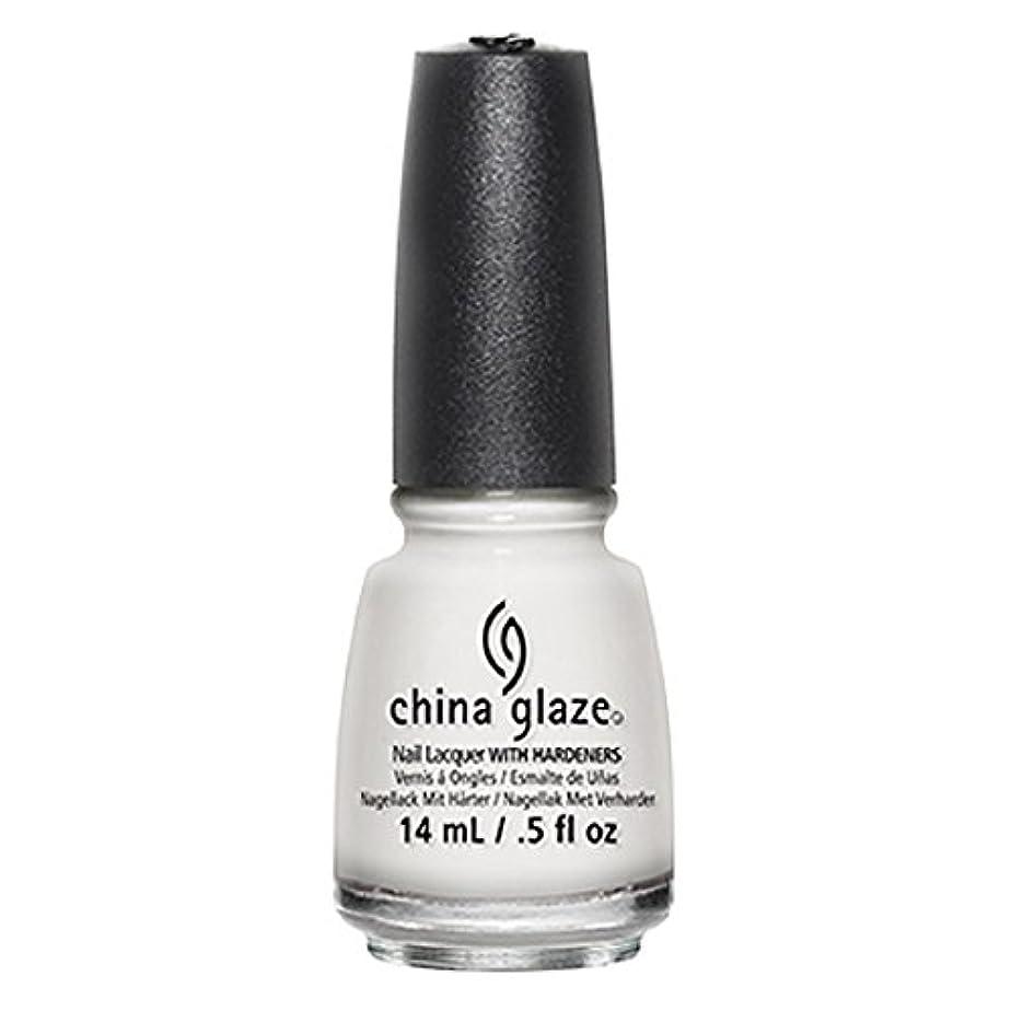 大惨事わかる倒錯China Glaze White Out Nail Polish 14ml