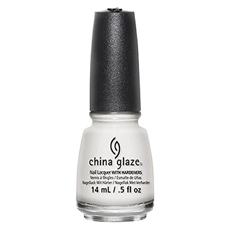 ジェム柔らかさ終わったChina Glaze White Out Nail Polish 14ml