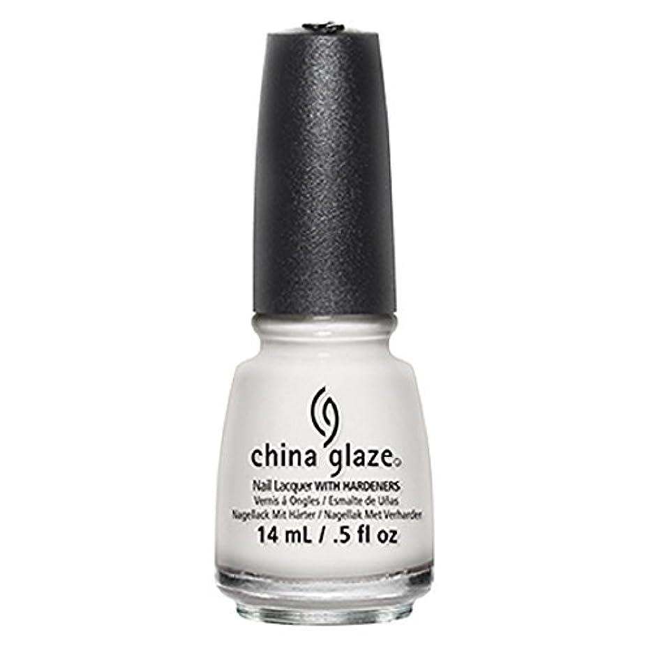 マーチャンダイジング乳動くChina Glaze White Out Nail Polish 14ml