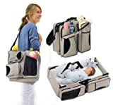 Best Bassinets - 3 in 1 Diaper Bag - Travel Bassinet Review