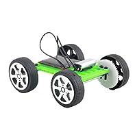 FidgetGear 1ピースミニ太陽のおもちゃDIY車の子供教育パズルIQガジェット趣味ロボットWB