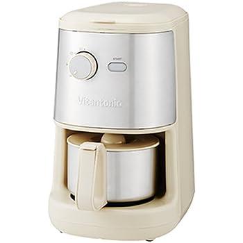 ビタントニオ 全自動コーヒーメーカー VCD-200 アイボリー 0