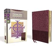 NRSV Thinline Reference Bible [Burgundy]