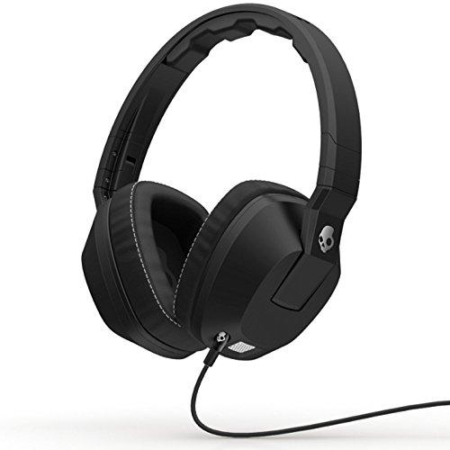 【国内正規品】Skullcandy Crusher ヘッドホン スマートフォン対応リモコン・マイク付 Black A6SCDZ-003