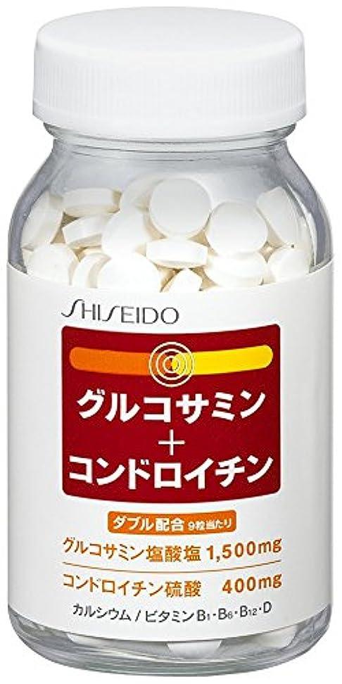 肥満財産湾資生堂 グルコサミン + コンドロイチン 270粒