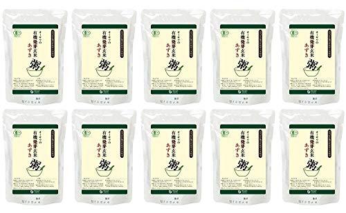 オーサワの有機活性発芽玄米あずき粥 200g×10個                 EAN: 4932828006208