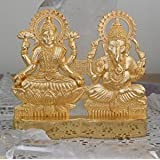 IndianStore4All Laxmi Ganesha Energized Statue - Lakshmi Ganesh Murti