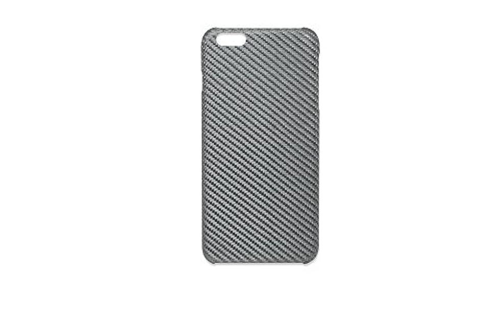 イブ詩人地下鉄DEFF monCarbone ホバーコート iPhone6 Plus/6S Plus Case ルミナスシルバー HK006LS