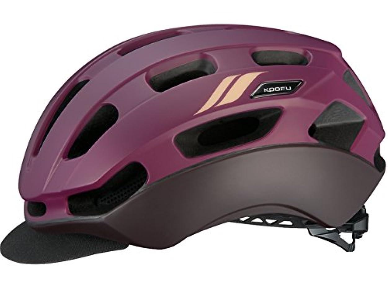 特権的巨大な筋KOOFU(コーフー) BC-GLOSBE レディース S/Mサイズ ドンナマットノーブルレッド ヘルメット BCグロッスベ レディース