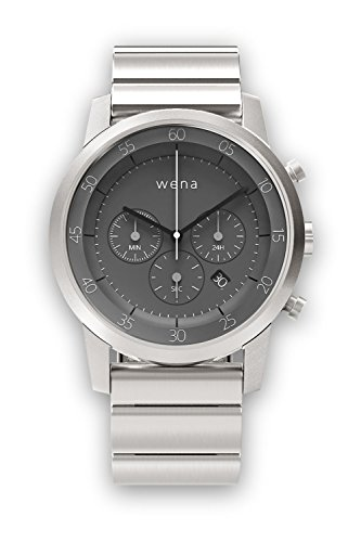 [wena project] wena wrist Chronograph Silver WN-WC01S