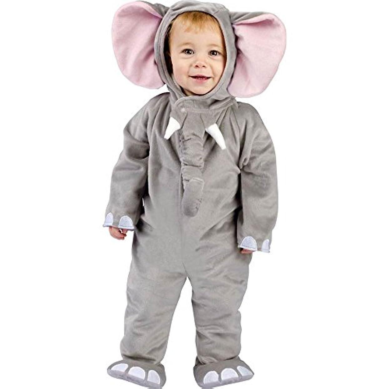 円形手のひら増幅器Cuddly Elephant Infant Costume かわいい象幼児コスチューム サイズ:6-12M