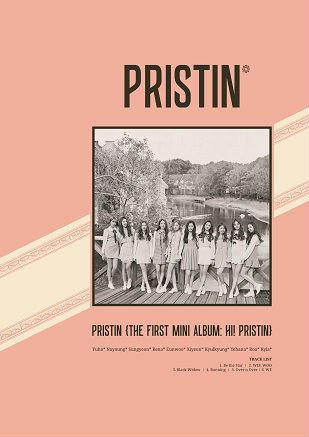 ミニアルバム - Hi! Pristin (Elastin Version B)