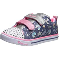 Skechers Sparkle Lite - Sparkleland Girls Sneakers, Light Blue/Multi