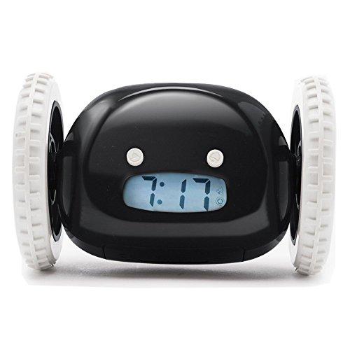 「エムティーエイチ」アラームクロック 目覚まし時計 走る動く ロボットクロック 大音量 アラーム かわいいスタイルのギフト 面白いギフト Hide and seek クレイジーアラーム時計 走る目覚まし ライト付き (?)
