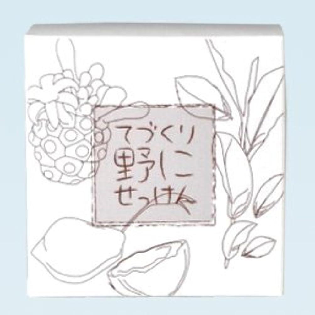 観光高揚したれんが緑茶ノニ石鹸 てづくり野にせっけん(115g)