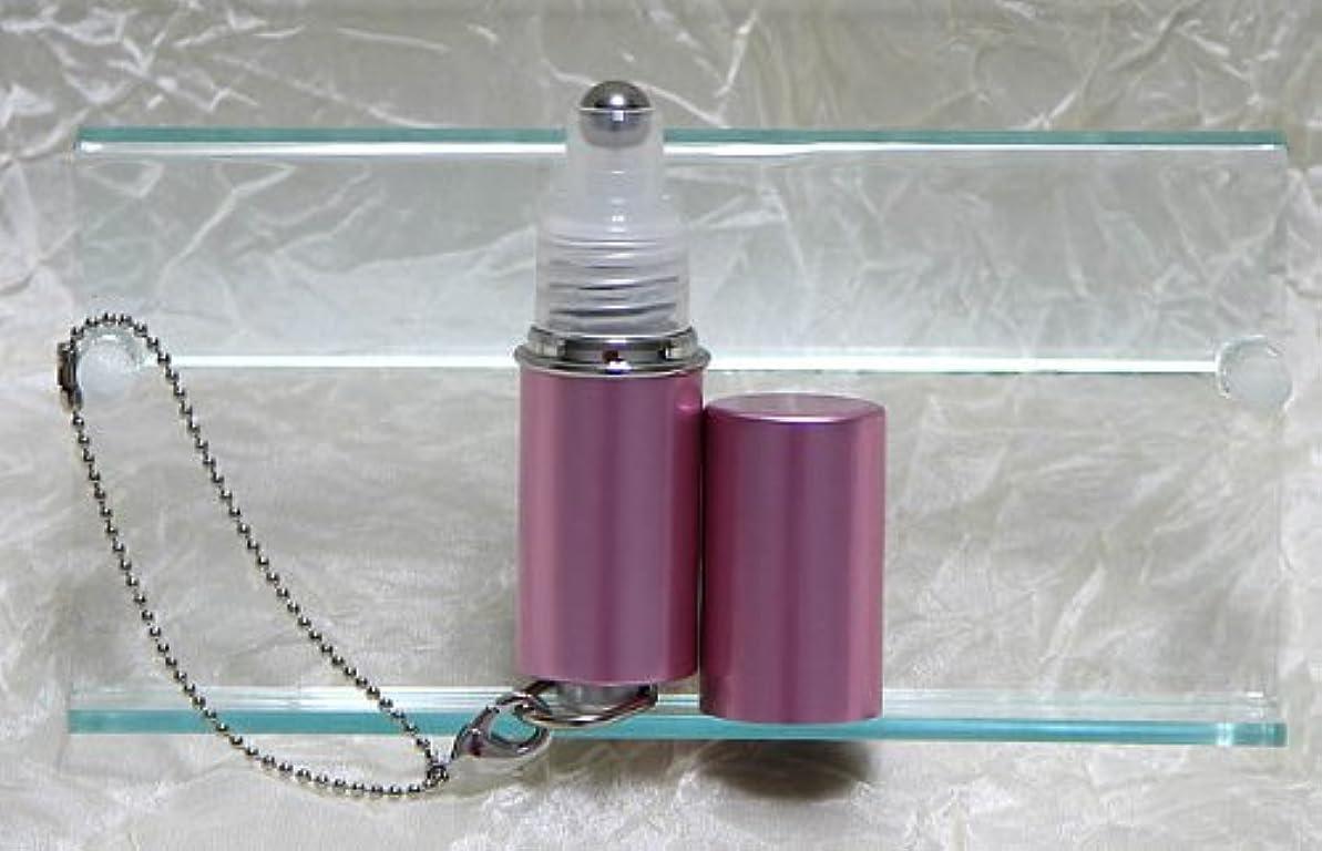 ショップ石のからに変化するパフュームローラーストラップ プレインカラー ピンク