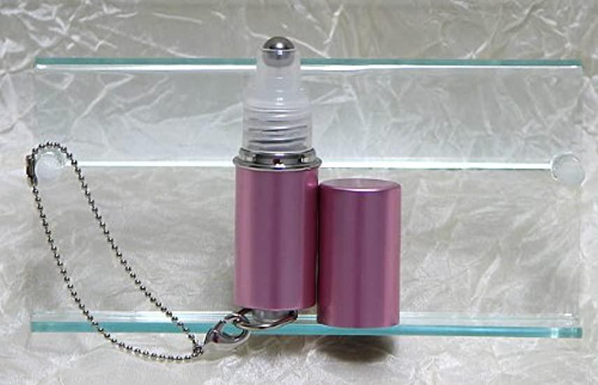 ドループ約束するアカウントパフュームローラーストラップ プレインカラー ピンク