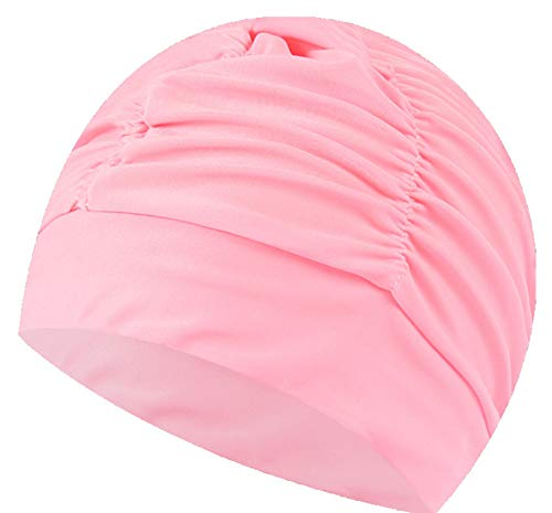 ふんわり スイムキャップ 水泳帽 スイミング キャップ 大人用 男女兼用