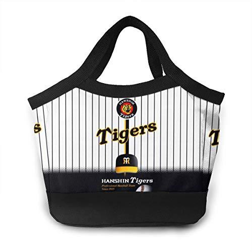阪神タイガース 保冷 がま ランチバッグ 買い物袋 お弁当 弁当袋 レディース クーラーバッグ トート 遠足 大人 子供用 ハンドバッグ