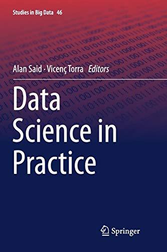 [画像:Data Science in Practice (Studies in Big Data)]