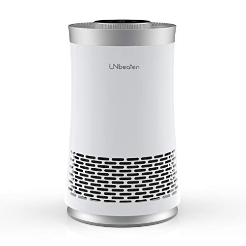 UNbeaten 空気清浄機 小型 卓上 コンパクト 花粉対策 6畳 HEPAフィルター 静音 省エネ 脱臭 ホコリ タバコ ペット