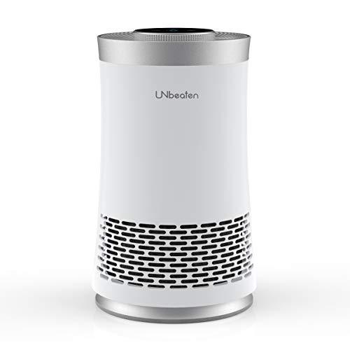 UNbeaten 空気清浄機 小型 卓上 コンパクト 6畳 HEPAフィルター 静音 省エネ 脱臭 ホコリ タバコ ペット 花粉対策