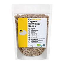 Naked Organic Sunflower Seeds, 250g