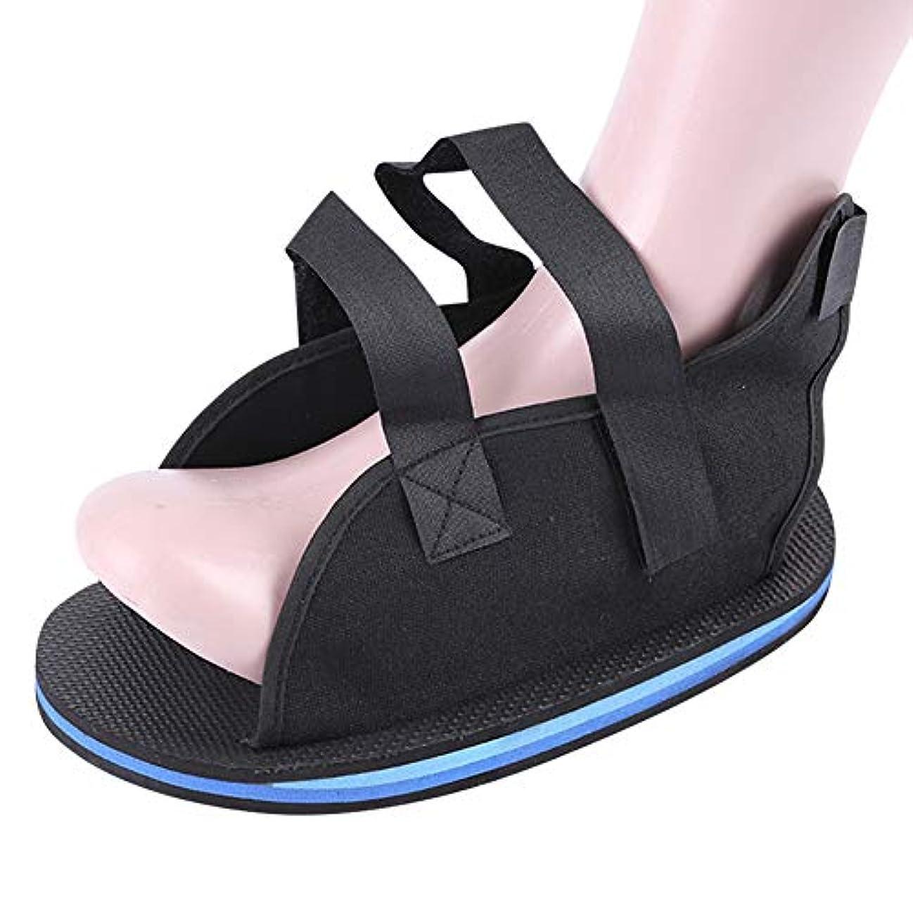 バンジョー混合した逆説uirendjsf 術後石膏靴 - 石膏靴 足骨折 靴カバー 保護足 リハビリテーション 手術靴