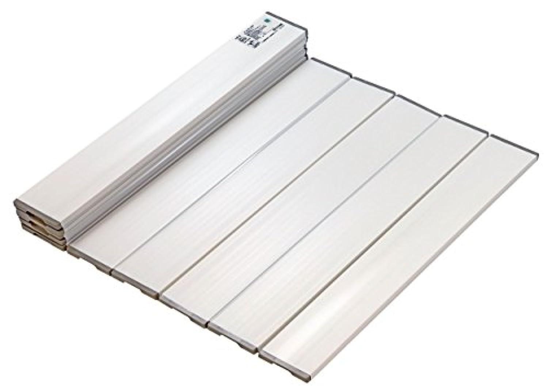 ミエ産業 折りたたみ風呂ふた Agスリム ホワイト L16 750×1620mm