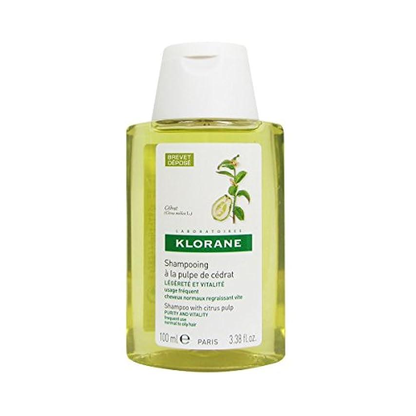 起業家チート劣るKlorane Cider Pulp Shampoo 100ml [並行輸入品]