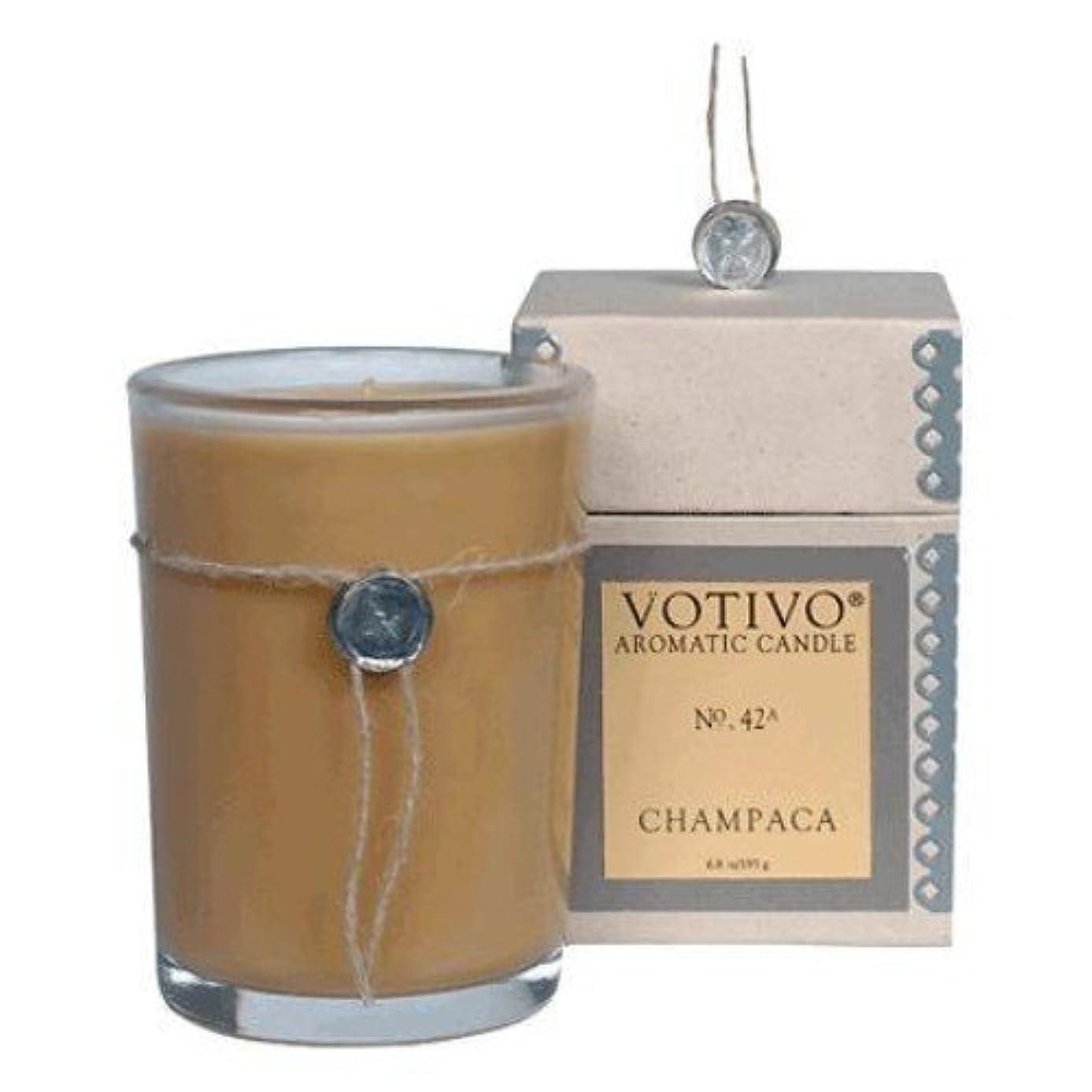 プロフェッショナルオーブン経度VOTIVO(ボーティボ)  キャンドル チャンパカ 193g